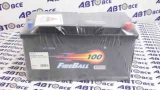 Аккумулятор 100А FIREBALL евро (правый +)
