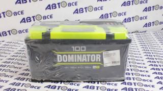 Аккумулятор 100А DOMINATOR  евро (правый +)