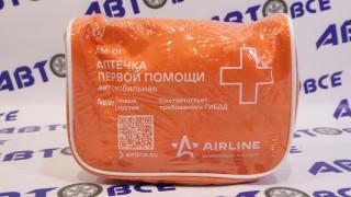 Аптечка автомобильная текстиль в футляре ГОСТ (нового образца)