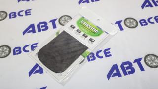 Коврик противоскользящий под телефон  (14.5*8.5 см) черный