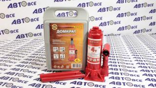 Домкрат гидравлический бутылочный 4т (180-350мм) в кейсе