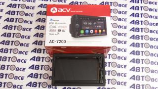 Автомагнитола ACV AD-7200 1din Android