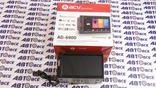 Автомагнитола ACV AD-6900 2DIN (FM/AM/USB/RDS/SD/GPS)