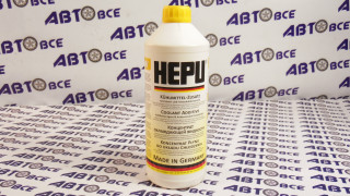 Антифриз жёлтый (концентрат) 1,5L HEPU