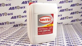 Антифриз красный 10L G12 SINTEC