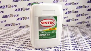 Антифриз зеленый 10L SINTEC