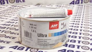 Шпатлевка легкая ULTRA 1л.+отверд.35гр APP