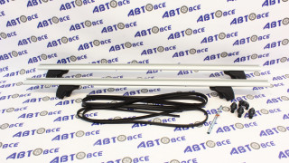 Багажник LUX для рейлингов 1,2 (73мм) аэродинамика Муравей