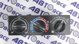 Блок управления отопителем (климат-контроль)ВАЗ-2110 (евро.панель)без конд.