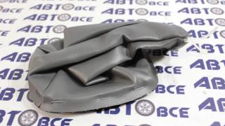 Чехол ручки КПП Lanos (черный,серый) GM
