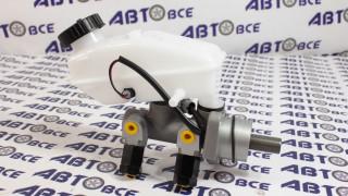 Цилиндр тормозной главный Aveo-1-2-3 без ABS ( в сборе с бачком) GROG