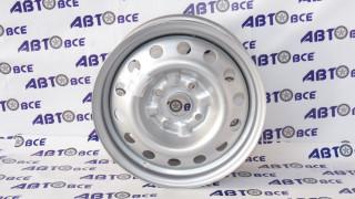 Диск колеса Lacetti R15 серебро