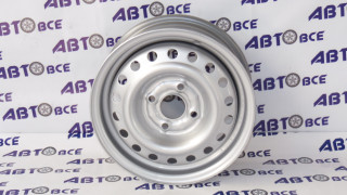 Диск колеса Lanos R13  5.5 х13/4 х 100 ET49 D56.6 серебро