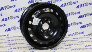 Диск колеса Lanos R14 черный AR026 5.5*14/4*100 ET49 /ET45