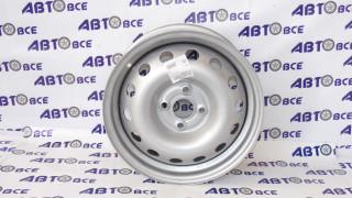 Диск колеса Solaris,Rio R15 6x15/4х100 ET45 D 54.1 серебро
