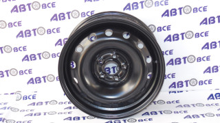 Диск колеса Rapid, Polo X40029 6x15/5x100ET40 d57 Black