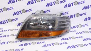 Фара левая Aveo 2 T200 (поворот в фаре) с мех. корр.GM