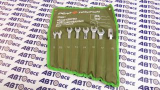 Набор ключей комбинированных (8 шт. шарнирных) в сумке ДелоТехники