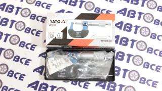 Микрометр механический 0-25мм YATO