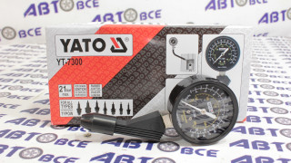 Компрессометр для бензиновых двигателей YATO