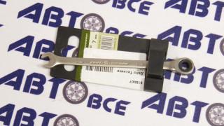 Ключ комбинированный трещоточный 7мм ДелоТехники