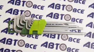 Набор ключей длинных с отверст. T10-T50 TORX