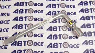 Ключ балонный 17 (г-образный) L=350мм с лопаткой Эврика