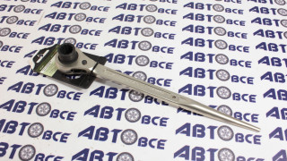 Ключ трещоточный монтажный 17*129м ДелоТехники