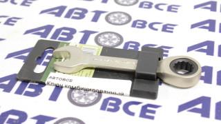 Ключ комбинированный трещеточный короткий 12мм ДелоТехники