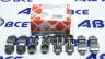 Коромысла клапана (рокера) Lanos,Nexia 8V 1.5 FEBI (к-т 8шт)
