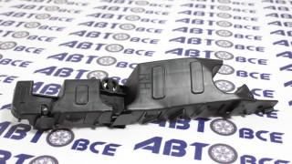 Кронштейн (направляющая) переднего бампера Aveo T300 правый SAT