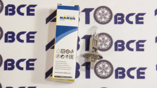 Лампа (галоген) H1 12V55W дальний свет NARVA