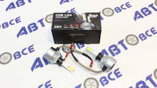 Лампа (диодная) H1 L04 к-т 2шт AMP COB