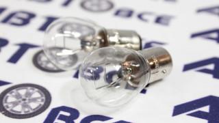 Лампа (габарит) 12-21W (смещ.цоколь) 2-конт. к-т 2 шт ВОСХОД