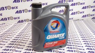 Масло моторное 10W40 (полусинтетическое) SN/CF TOTAL QUARTZ 7000 4L