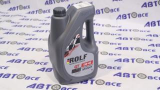 Масло моторное 5W40 (синтетика) SN/CF GT ROLF 4L