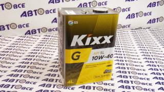 Масло моторное 10W40 (полусинтетическое) SL KIXX GOLD 4L