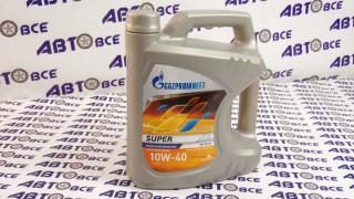 Масло моторное 10W40 (полусинтетическое) SG/CD GAZPROMNEFT SUPER  4L