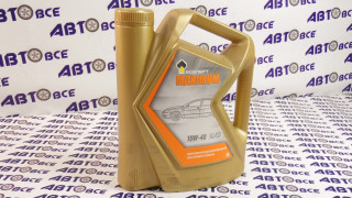 Масло моторное 10W40 (полусинтетическое) SG/SD Роснефть MAXIMUM 5L