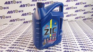 Масло моторное 10W40 (полусинтетическое) SM ZIC X5 6L