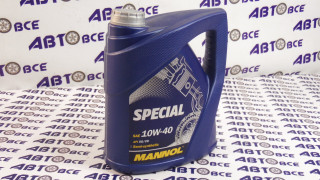 Масло моторное 10W40 (полусинтетическое) SG/CD MANNOL SPECIAL 4L