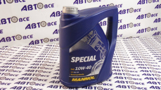 Масло моторное 10W40 (полусинтетическое) SG/CD MANNOL SPECIAL 5L