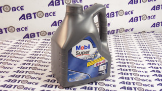 Масло моторное 10W40 (полусинтетическое) SL/CF MOBIL SUPER 2000 4L