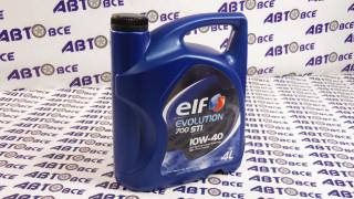 Масло моторное 10W40 (полусинтетическое) SN/SF ELF EVOLUTION 700 STI 4L