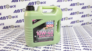 Масло моторное 10W40 (полусинтетическое) SL/CF LIQUIMOLY MOLYGEN 4L