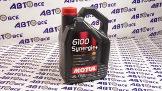 Масло моторное 10W40 (полусинтетическое) SN MOTUL SUNERGIE + 6100 4L