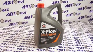 Масло моторное 10W40 (полусинтетическое) SL/SF COMMA X-FLOW 4L