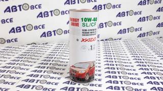 Масло моторное 10W40 (полусинтетическое) SL/CF XADO ENERGY DRIVE 1L