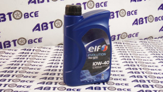 Масло моторное 10W40 (полусинтетическое) SN/CF ELF EVOLUTION 700 STI 1L