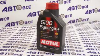 Масло моторное 10W40 (полусинтетическое) SN MOTUL SYNERGIE+ 6100 1L